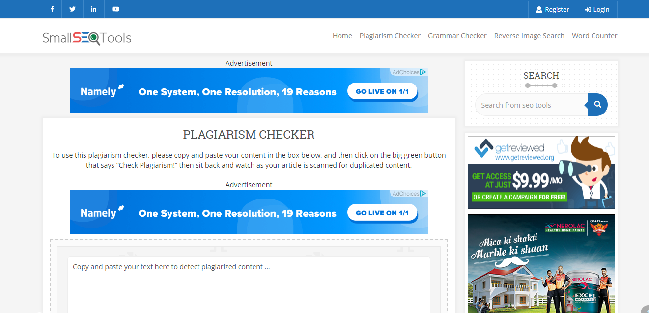 plaigarism Checker