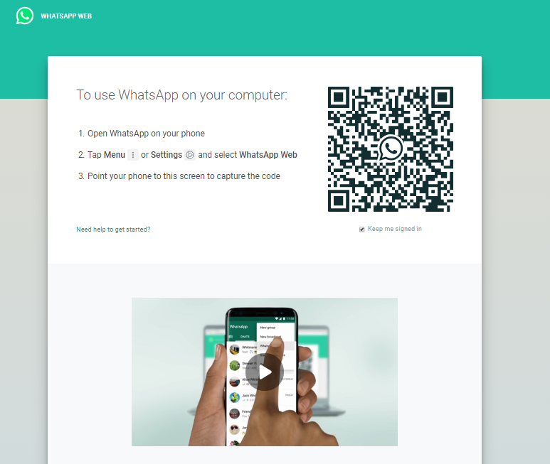 whats app on pc