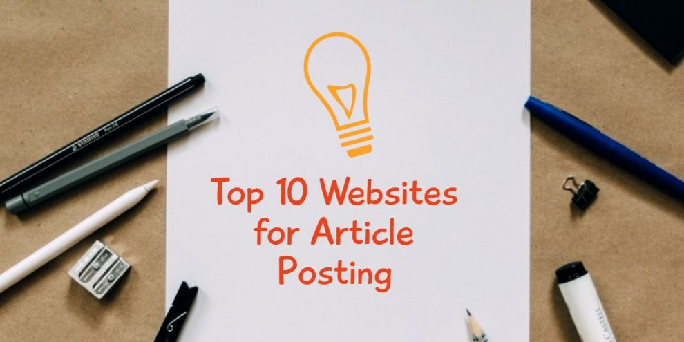 websites for posting writing