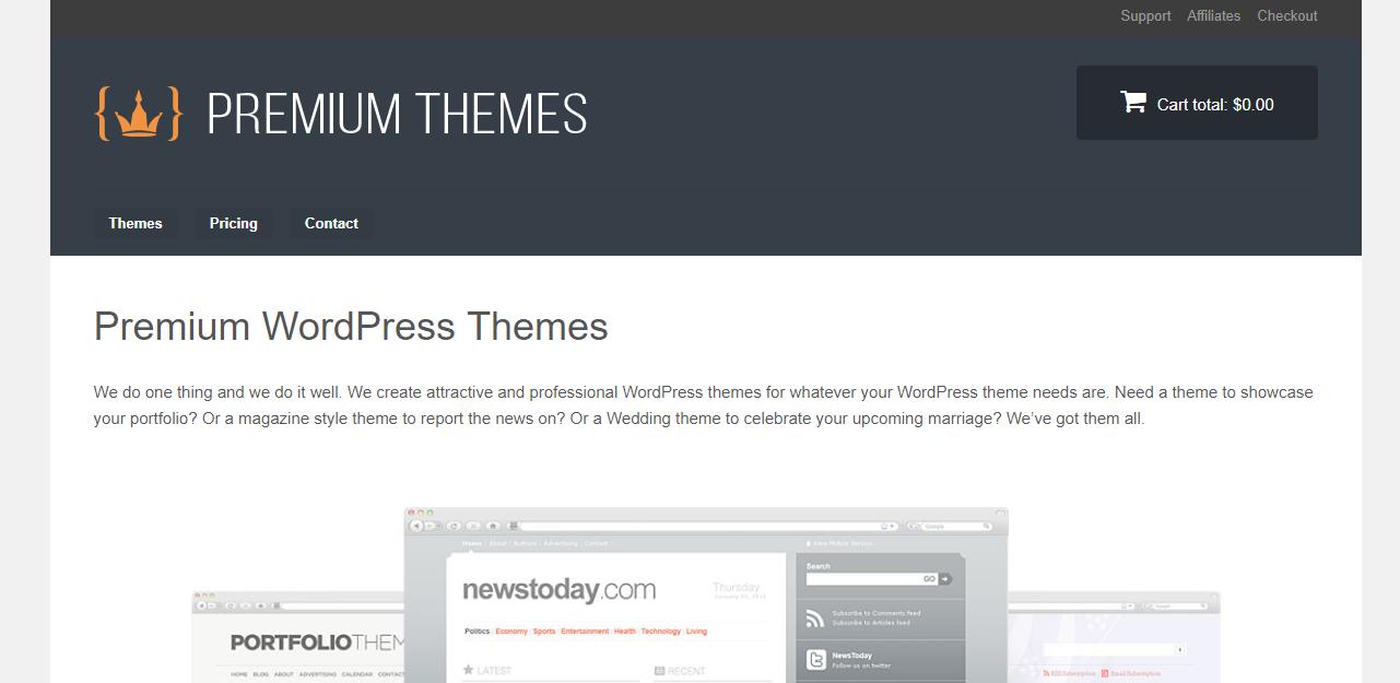 premium themes