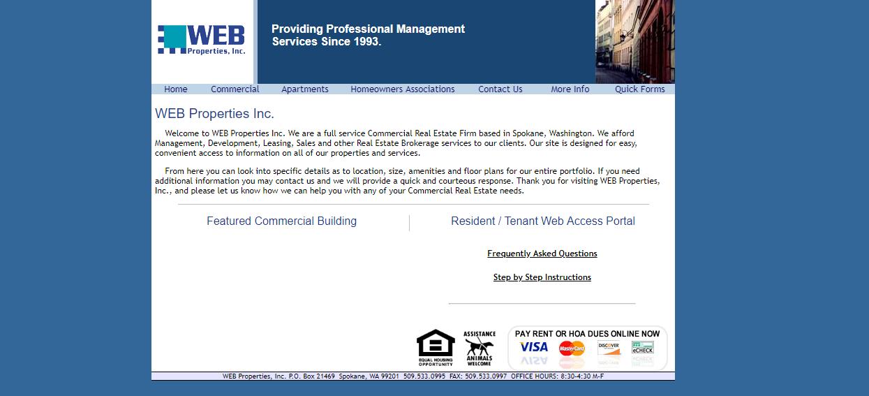 Web properties Inc