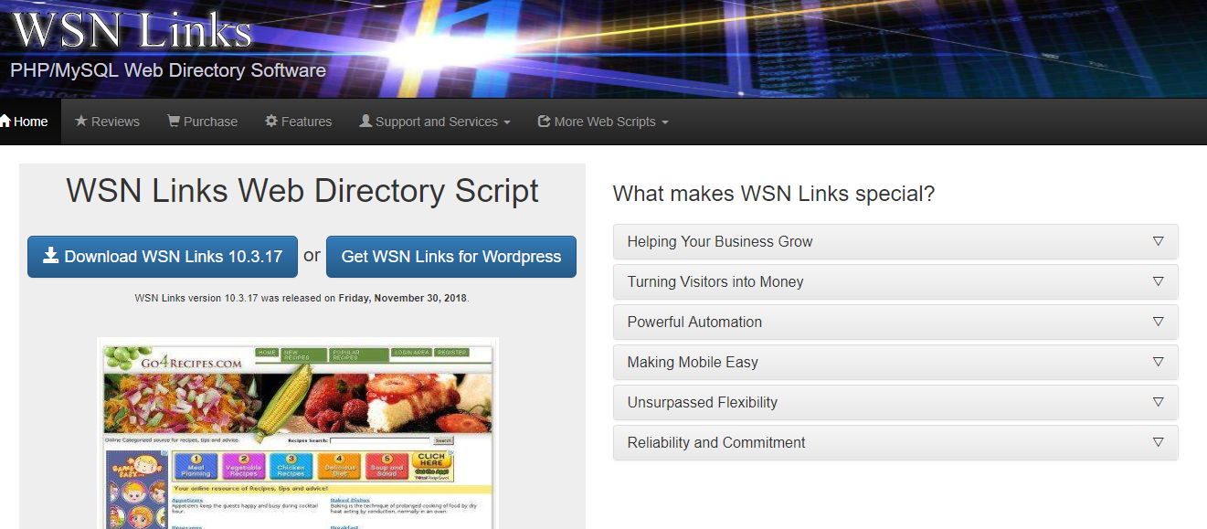 WSN links