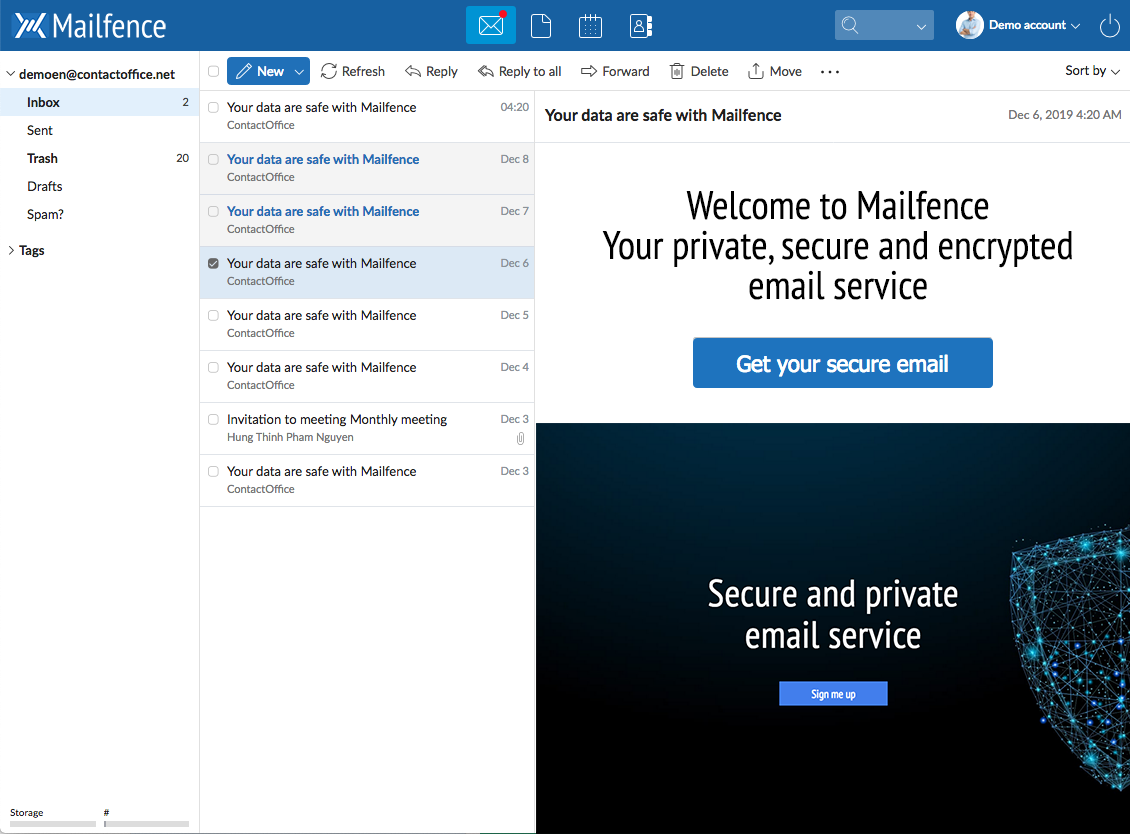mailfence-email